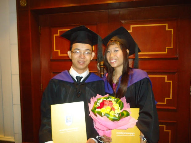 I and Polin Pol, a partner of Business Plan