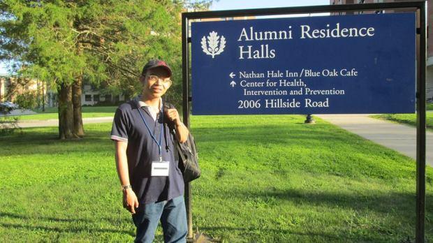at UConn