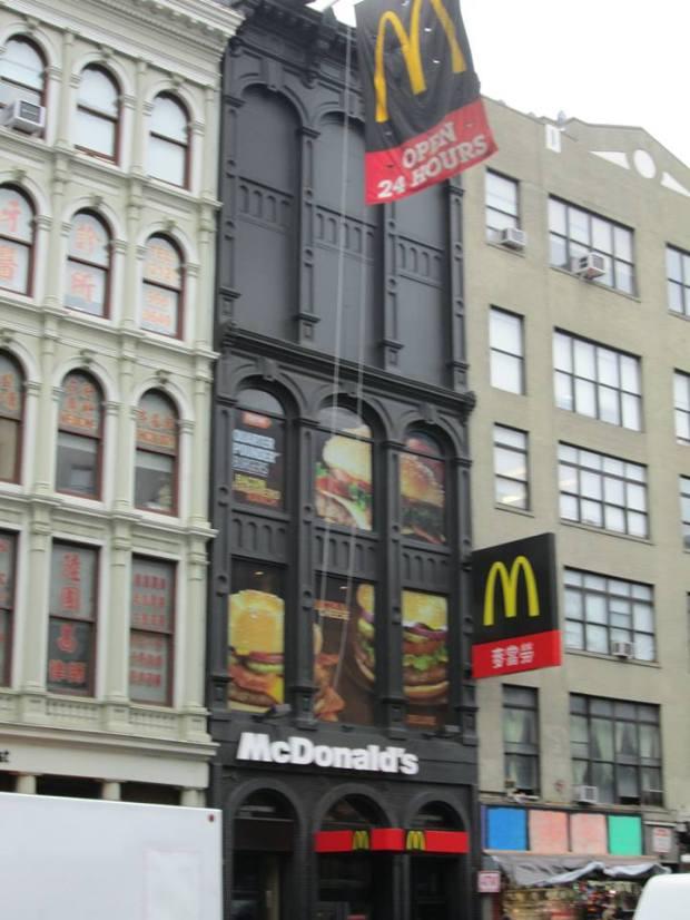 McDonald at Chinatown