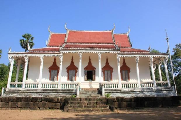 Temple of Wat Kompong Tralach Ler