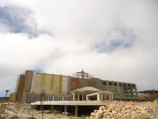 Thansur Bokor Highland Resort in construction