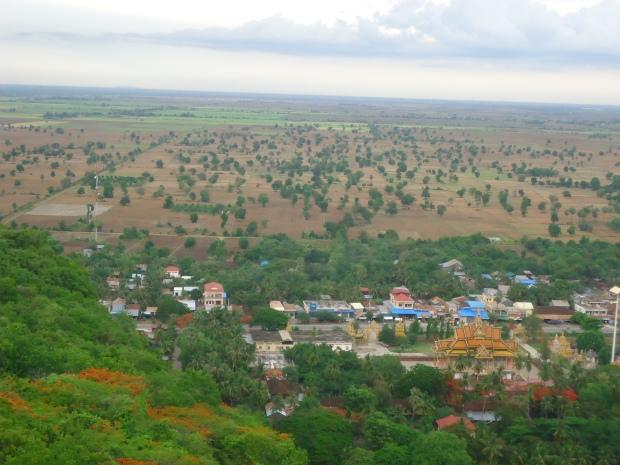The Scenery of Battambang Village