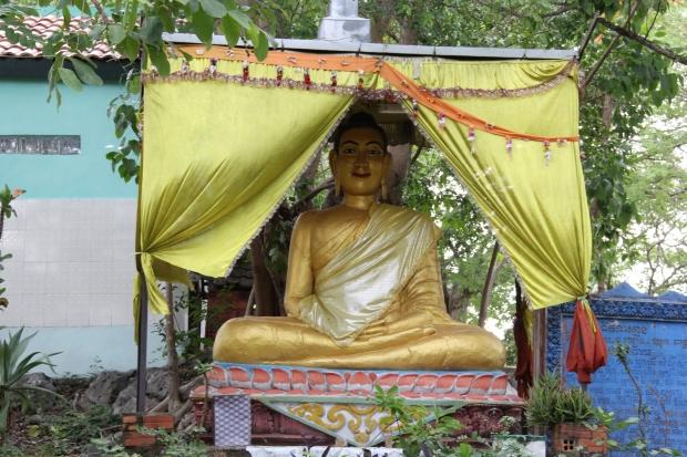 The Buddha on The Buddha on Phnom Sampoeu, Battambang