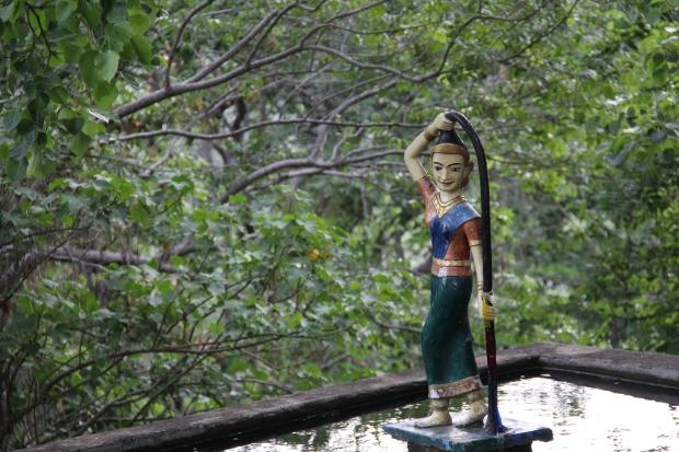 Queen of Sea in the Khmer folk tale