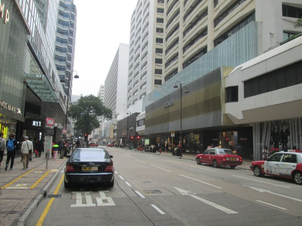 Canton Street with full of luxury item