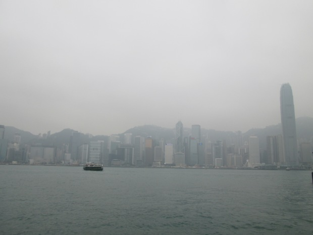 Hong Kong Island in the Early Morning