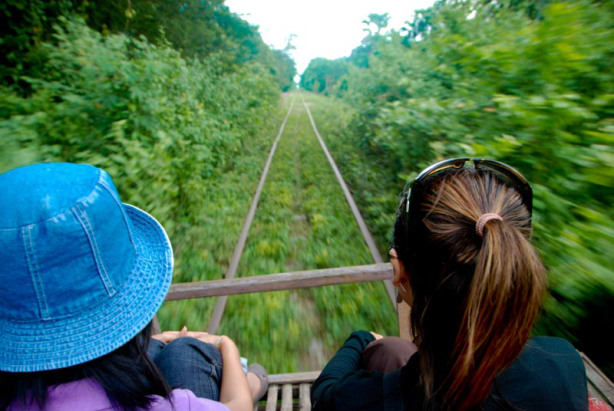 Norry- Bamboo Train of Cambodia