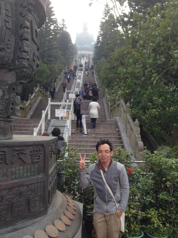 The Ladder to Big Buddha